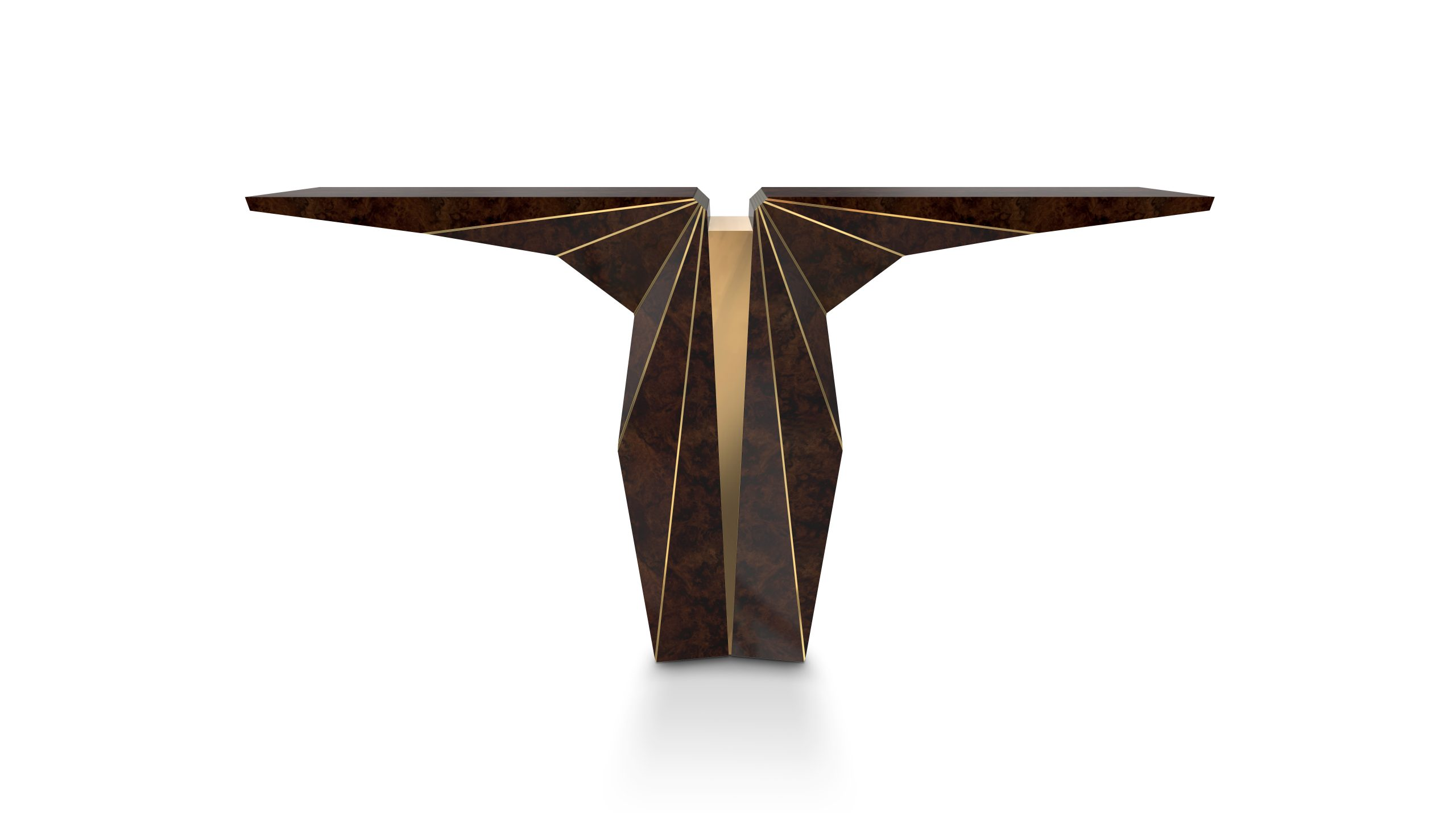 Luxury Furniture: The Suspicion Wood Console Top Exhibitors at Decorex Top Exhibitors at Decorex International 2018 Suspicion Console frente scaled Top Exhibitors at Decorex Top Exhibitors at Decorex International 2018 Suspicion Console frente scaled