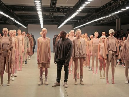 Yeezy Gap, Kanye West's New Project Coming in 2021 yeezy gap Yeezy Gap, Kanye West's New Project Coming in 2021 gettyimages 488589090 448x336