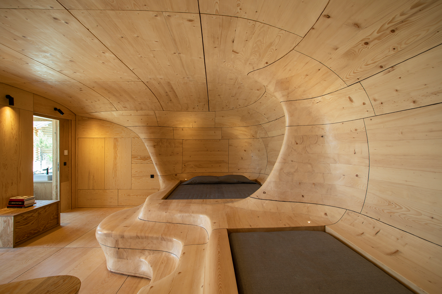 Wooden Cave, the Natural Greek Hotel Suite Luxury Travel Luxury Travel: The Best Views From Hotel Suites wooden cave trikala korinthias greece tenon architecture 2 Luxury Travel Luxury Travel: The Best Views From Hotel Suites wooden cave trikala korinthias greece tenon architecture 2