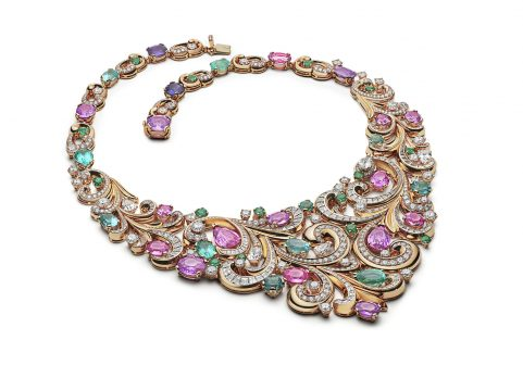 Bvlgari Explores Roman Heritage With New Collection bvlgari Bvlgari Explores Roman Heritage With New Collection Lady Arabesque necklace 481x336