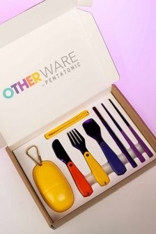 Pharrell Williams Launches Sustainable Cutlery pharrell williams Pharrell Williams Launches Sustainable Cutlery OTHERWARE CUTLERY 224x336