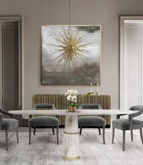 Color Schemes For A Luxurious Dining Room luxurious dining room Color Schemes For A Luxurious Dining Room explosion suspension cover 02 291x336