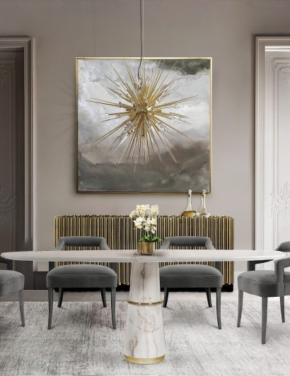 Color Schemes For A Luxurious Dining Room luxurious dining room Color Schemes For A Luxurious Dining Room explosion suspension cover 02 410x532