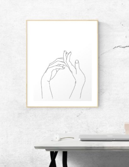 Scandi Design Trends You Can Add To Your Next Project scandi design trends Scandi Design Trends You Can Add To Your Next Project minimal art prints collection banner 410x532