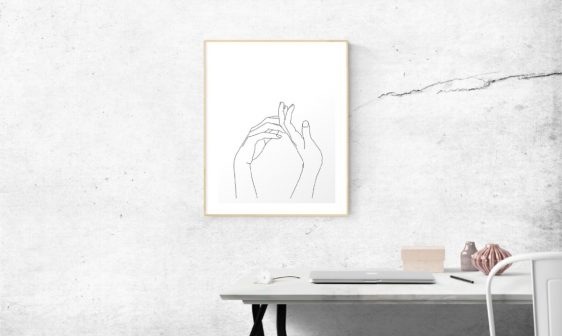 Scandi Design Trends You Can Add To Your Next Project scandi design trends Scandi Design Trends You Can Add To Your Next Project minimal art prints collection banner 562x336