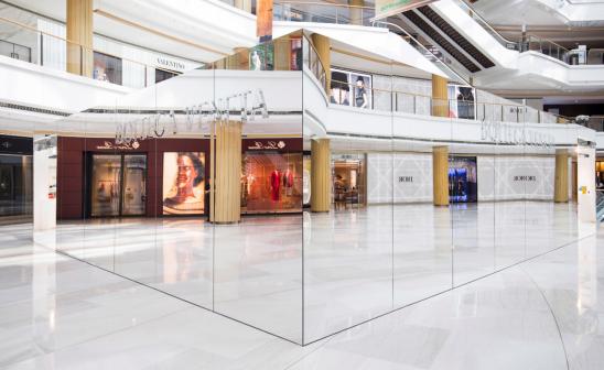 Bottega Veneta Unveils 'Invisible' Shanghai Store
