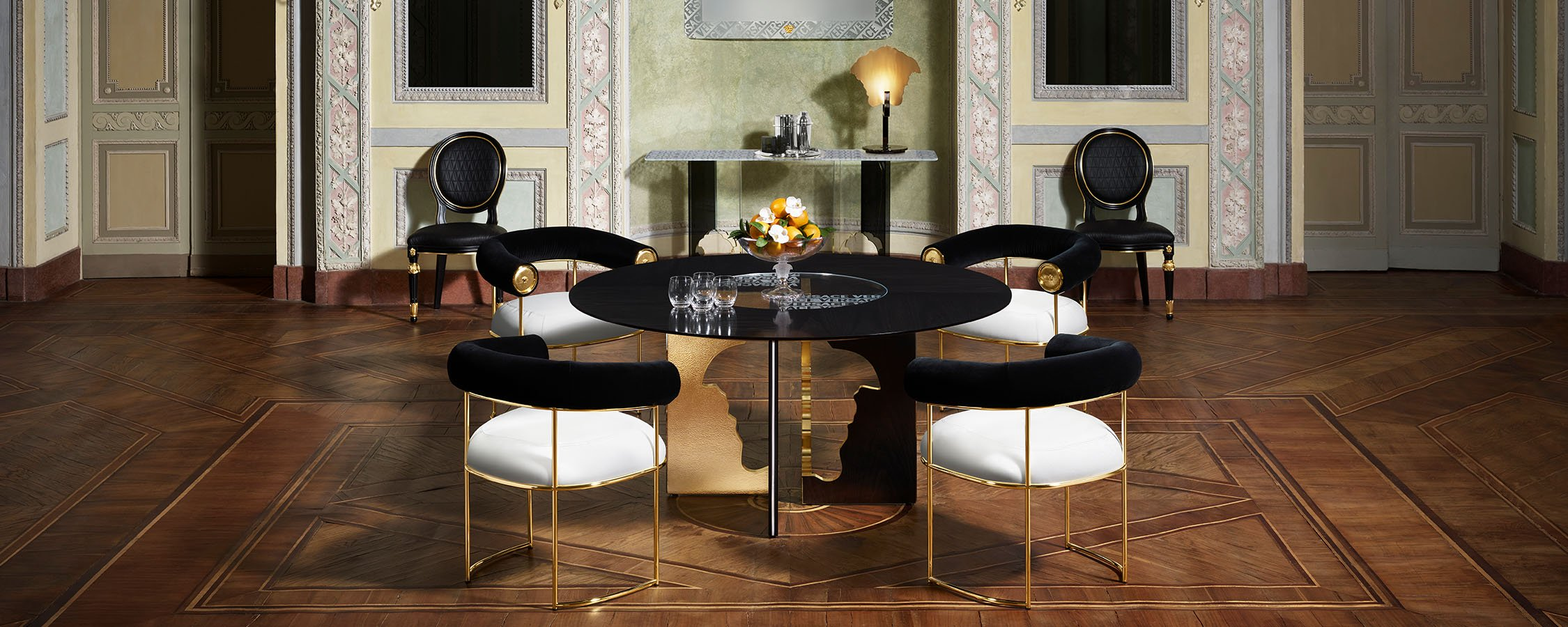 Get to Know Versace Home's New Collection