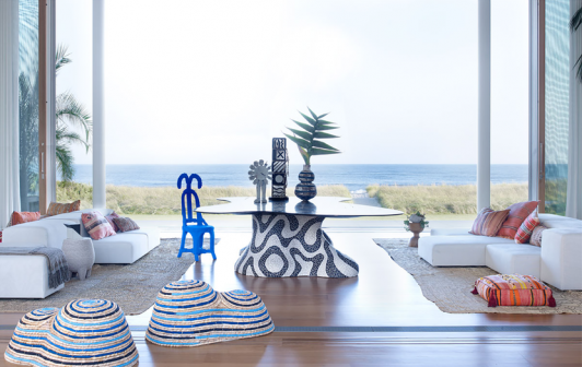 Kelly Behun's Gaudi-Inspired Outdoor Furniture is Stunning and Creative kelly behun Kelly Behun's Gaudí-Inspired Outdoor Furniture is Stunning Kelly Behun The Invisible Collection 1 532x336