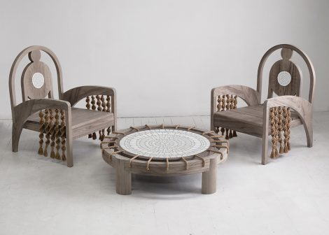Kelly Behun's Gaudi-Inspired Outdoor Furniture is Stunning and Creative kelly behun Kelly Behun's Gaudí-Inspired Outdoor Furniture is Stunning The Invisible Collection Kelly Behun 9 470x336