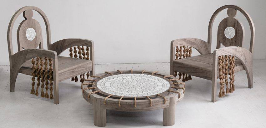 Kelly Behun's Gaudi-Inspired Outdoor Furniture is Stunning and Creative kelly behun Kelly Behun's Gaudí-Inspired Outdoor Furniture is Stunning The Invisible Collection Kelly Behun 9 850x410