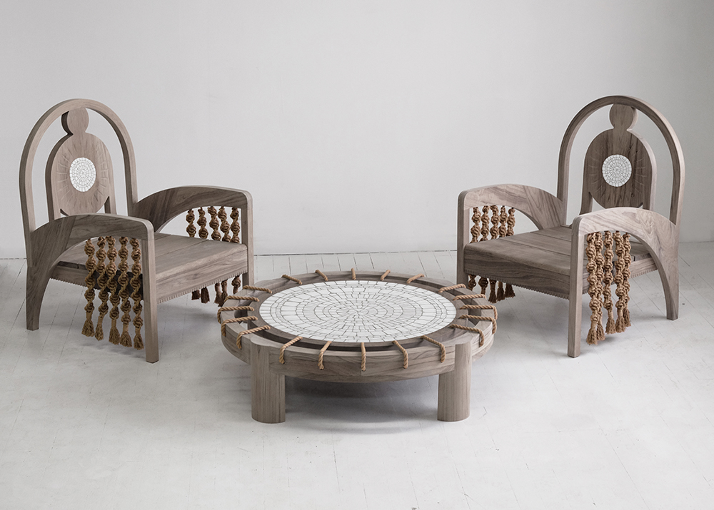 Kelly Behun's Gaudí-Inspired Outdoor Furniture is Stunning