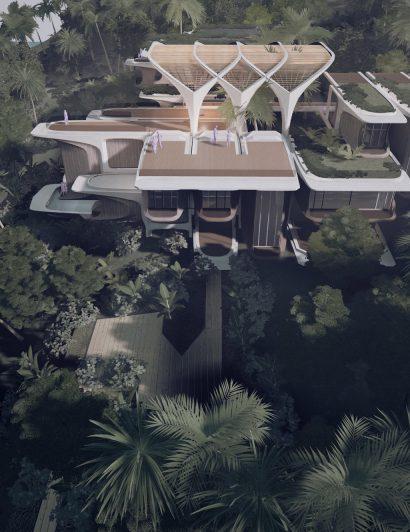 Zaha Hadid Architects Unveils Housing Project in Honduras zaha hadid architects Zaha Hadid Architects Unveils Housing Project in Honduras roatan prospera housing zaha hadid architects roatan honduras dezeen 2364 col 6 410x532