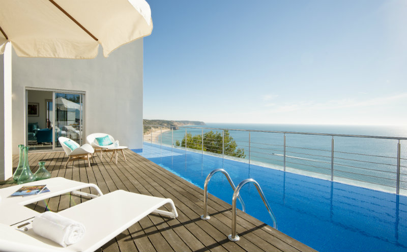 vila vita Vila Vita Hotel – A beautiful getaway in Algarve 10 Villa Mar Azul Plunge pool view 1 1