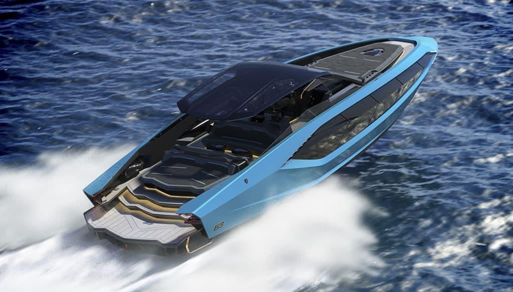 Yacht Design - Lamborghini 63 Tecnomar Yacht yacht design Yacht Design: Meet the Tecnomar for Lamborghini 63, a Luxurious Yacht Lamborghini yacht 1