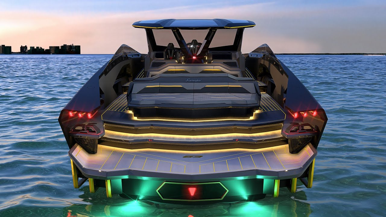 Yacht Design: Meet the Tecnomar for Lamborghini 63, a Luxurious Yacht