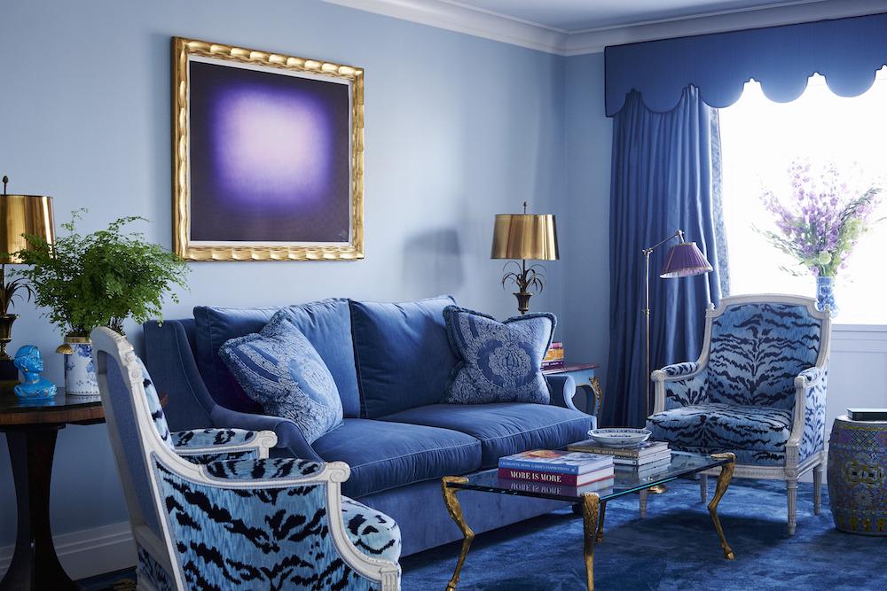 interior design blue living room interior design Interior Design Ideas with a Splash of Color interior design 1