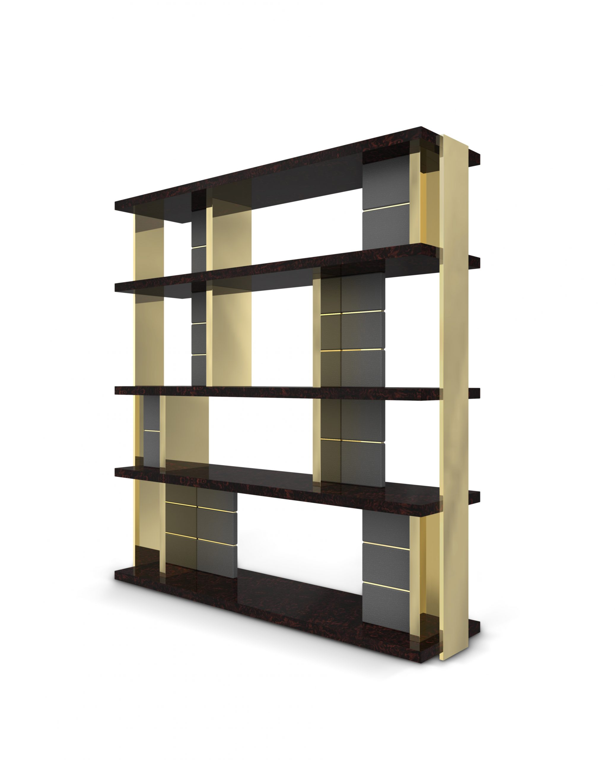 Lloyd Bookcase by Luxxu gentleman's office Gentleman's Office: The Ultimate Guide lloyd bookcase 02 scaled