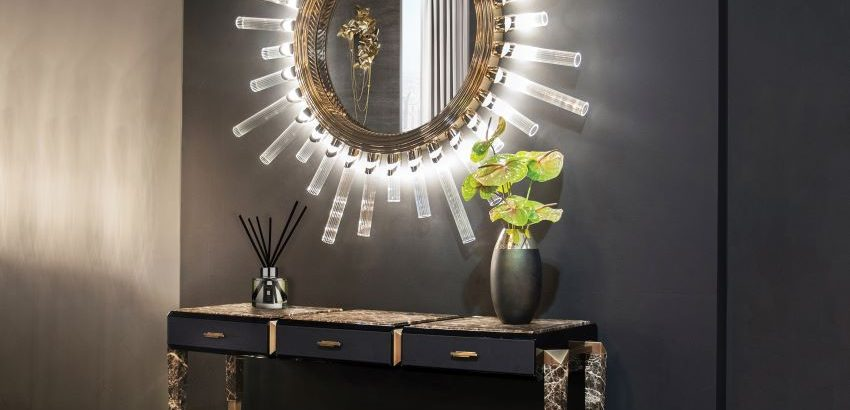 mirror designs Mirror designs that will glamour your house majestic xl wall light mirror 02 850x410