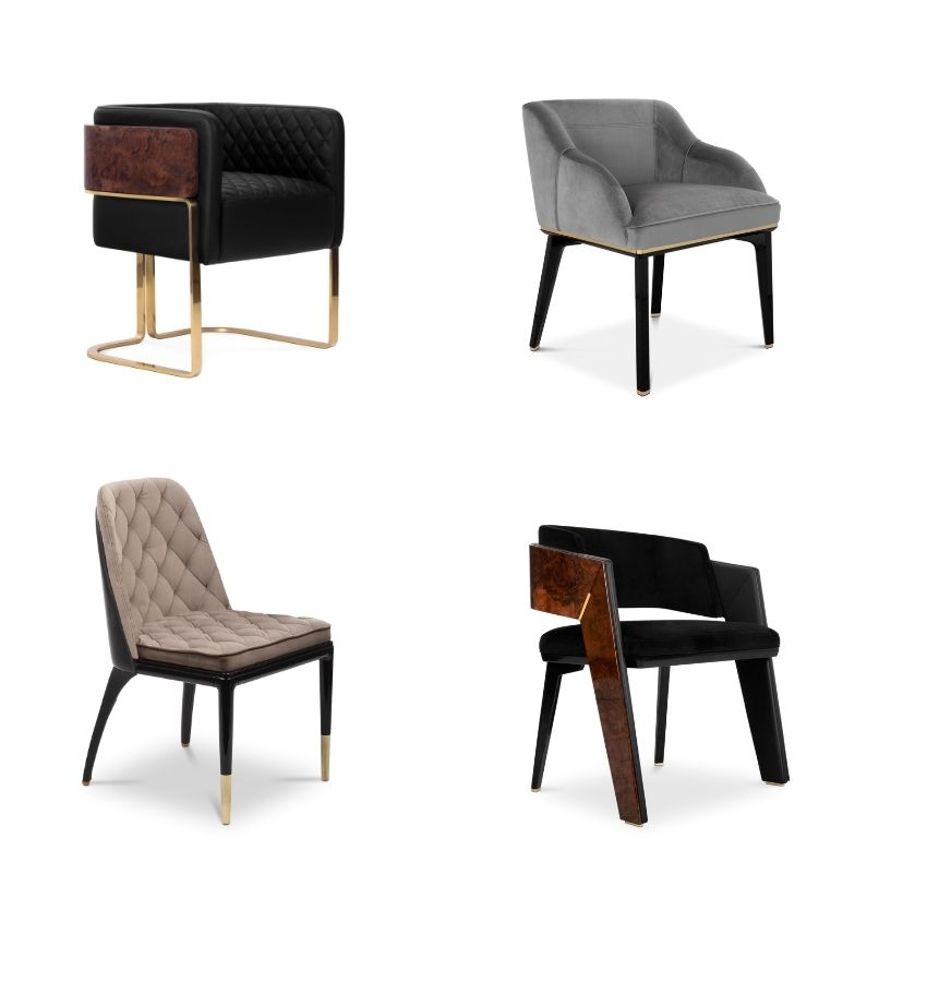 The Best Essentials for a glamorous dining room dining room The Best Essentials for a Glamorous Dining Room Chairs