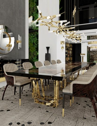 thanksgiving Thanksgiving – gather the best dining room inspirations The Best Essentials for a Glamorous Dining Room1 410x532
