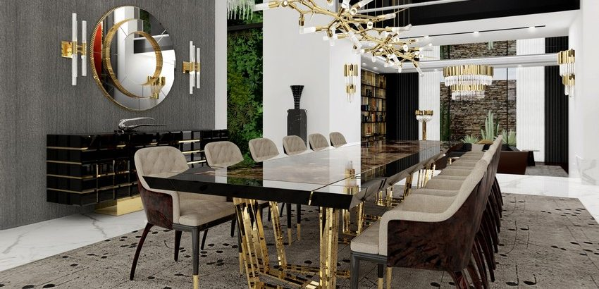 thanksgiving Thanksgiving – gather the best dining room inspirations The Best Essentials for a Glamorous Dining Room1 850x410