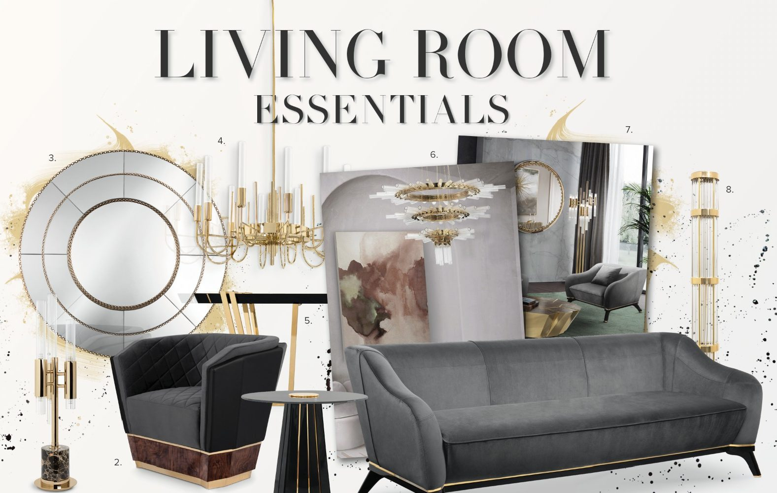Living Room Essentials- The Mandatory in Craftsmanship Products