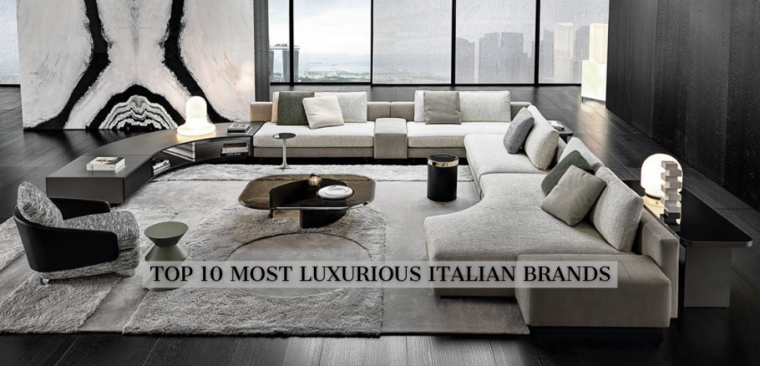 italian furniture brand The 10 Most Luxurious Italian Furniture Brands DISCOVER THE ICONS 3 850x410