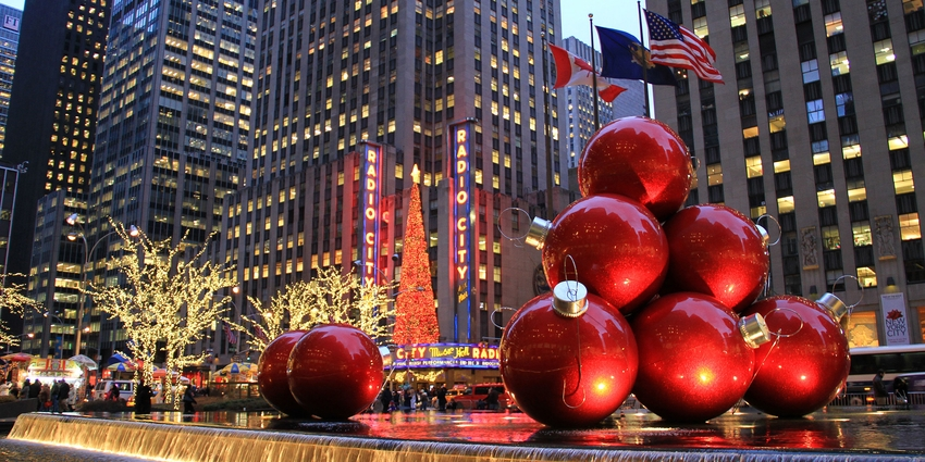 Top 7 Christmas spots in NYC