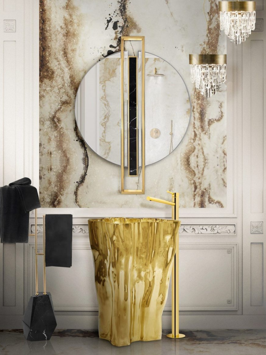 Freestandings that will leave your bathroom a super luxurious place freestandings Freestandings that will leave your bathroom a super luxurious place 17