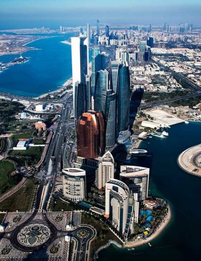 abu dhabi Design Hubs of the World – Top Interior Designers From Abu Dhabi Abu Dhabi skyline 16c24a05731 large 410x532