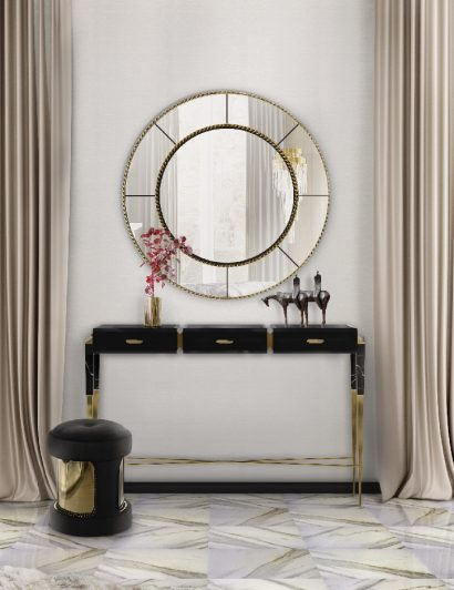 Get To Know The Amazing Mirror Collection by LUXXU top 25 mirrors that will leave you speechless Top 25 Mirrors That Will Leave You Speechless Consoles5 410x532