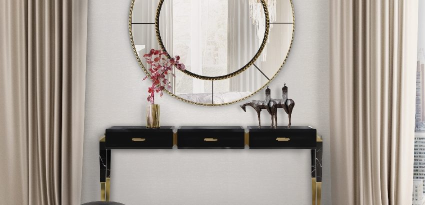 Get To Know The Amazing Mirror Collection by LUXXU top 25 mirrors that will leave you speechless Top 25 Mirrors That Will Leave You Speechless Consoles5 850x410