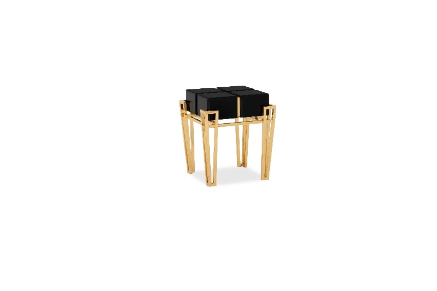 Elegance Reflected in the Side Tables