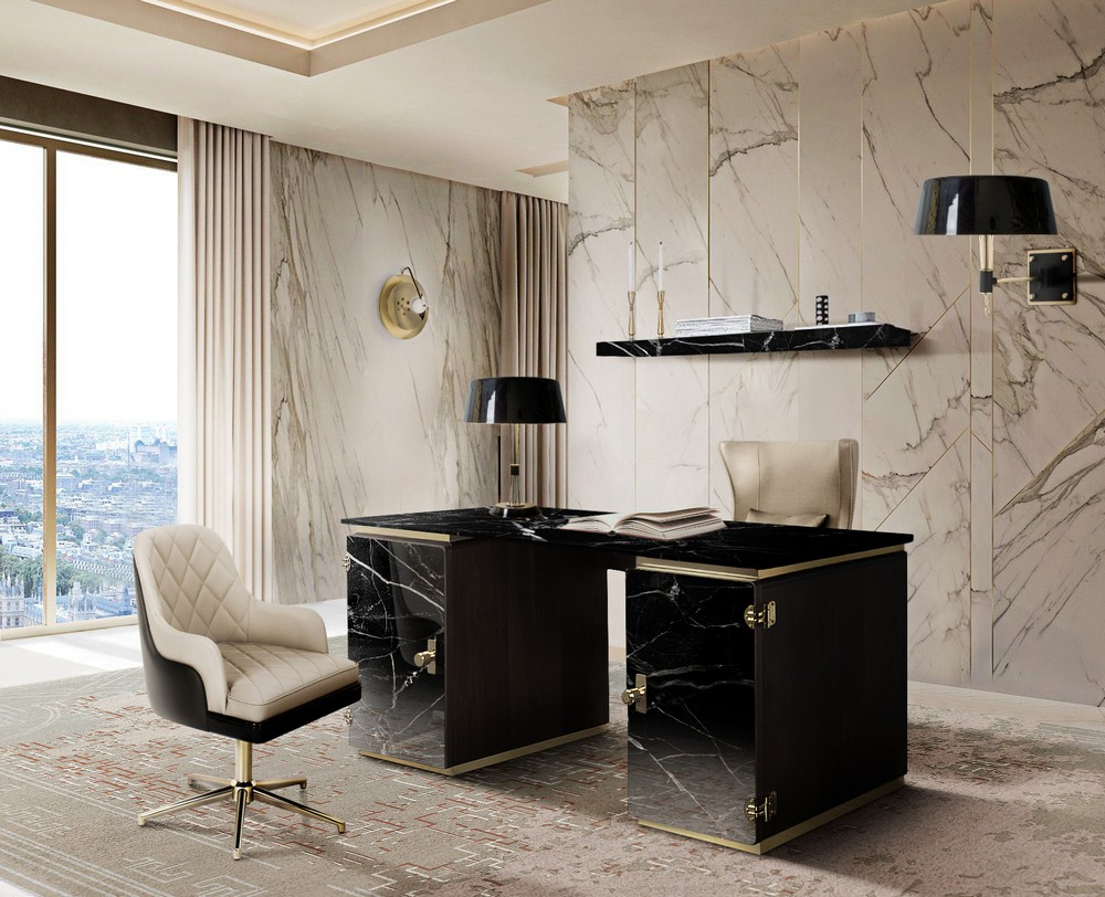 luxury desks Top 25 Luxury Desks to Modernize Your Home Office Decor Top 25 Luxury Desks to Modernize Your Home Office Decor 19