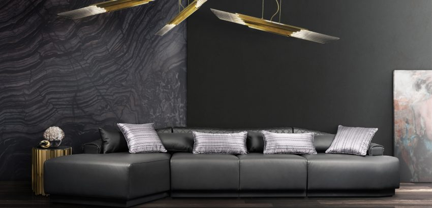 modern luxury sofas Modern Luxury Sofas with High-end Design anguis sofa cover 01 1 850x410