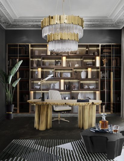 best 25 bookcases for a luxurious home office Best 25 Bookcases for a Luxurious Home Office empire II suspension 05 410x532
