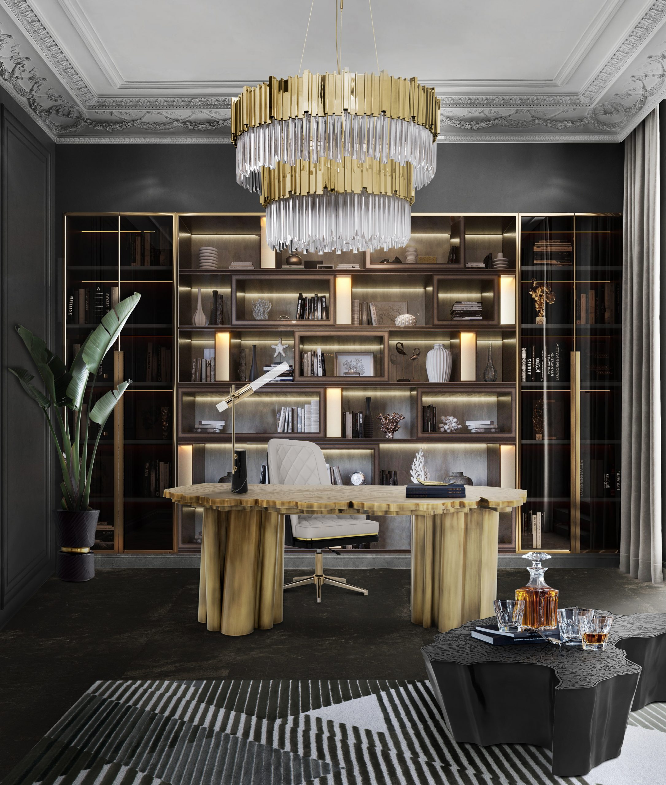 Best 25 Bookcases for a Luxurious Home Office