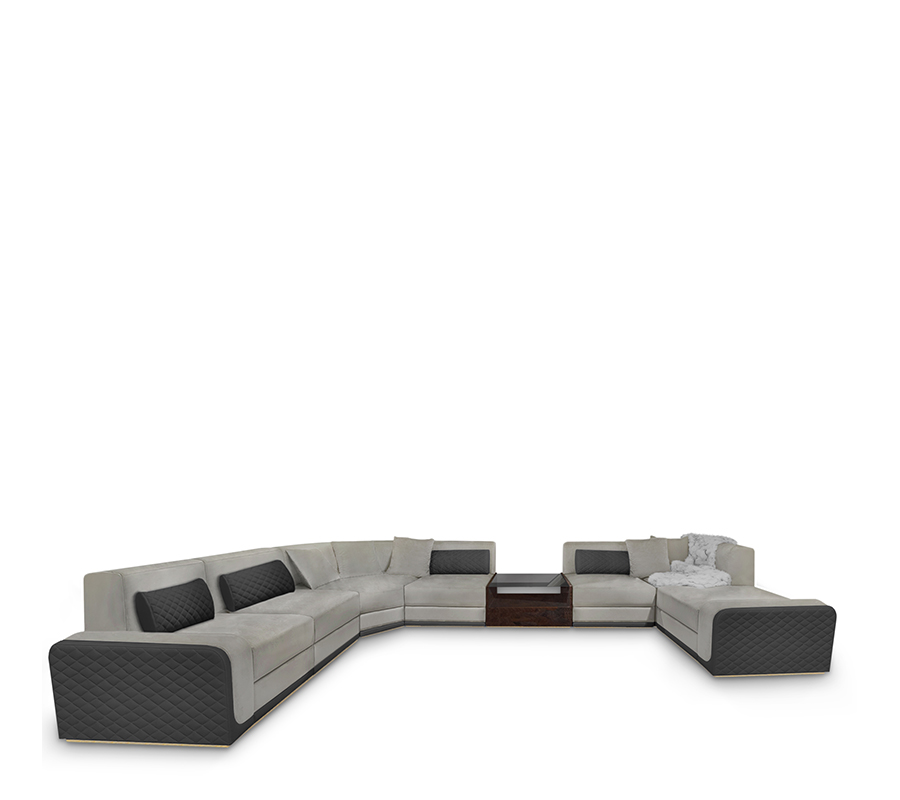 Modern Luxury Sofas modern luxury sofas Modern Luxury Sofas with High-end Design img 1