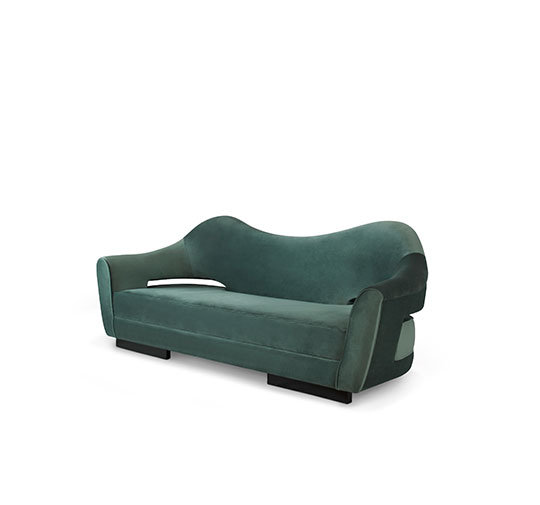 top 25 luxury sofas for a modern living room Top 25 Luxury Sofas for a Modern Living Room nau velvet sofa mid century modern furniture 2