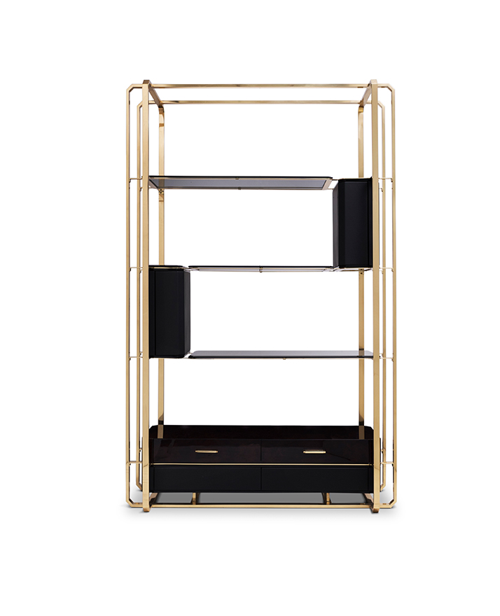 best 25 bookcases for a luxurious home office Best 25 Bookcases for a Luxurious Home Office waltz bookcase 01 1