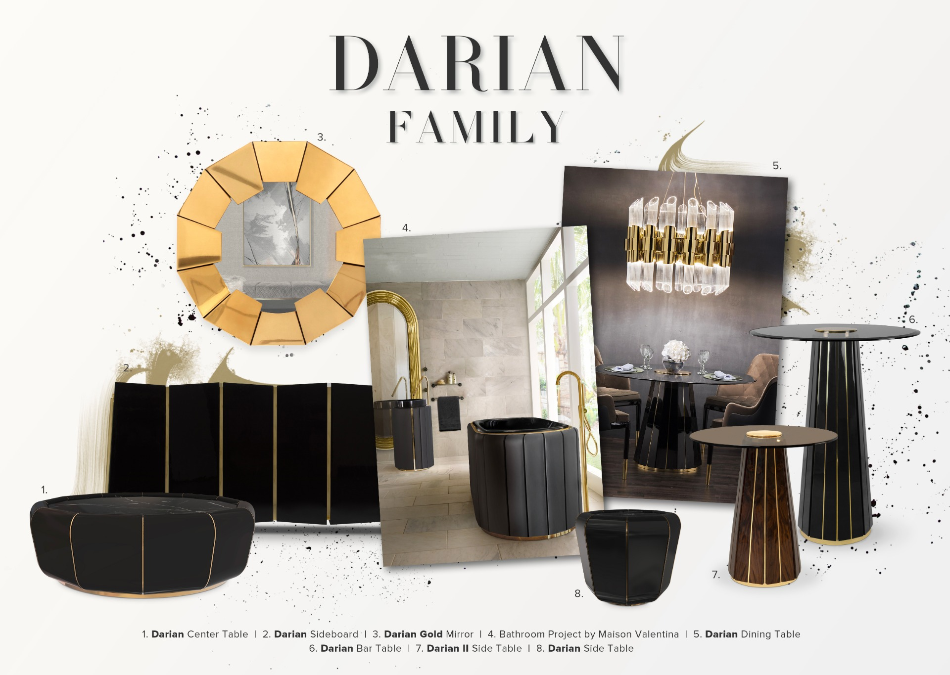 Exquisite Families: The Darian Lineage
