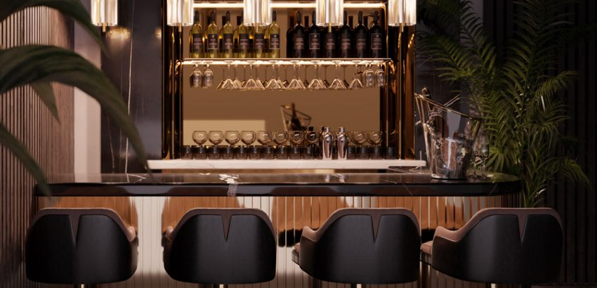 the perfect home bar The Perfect Home Bar – A Guide To A Luxurious Toast img 7 850x410