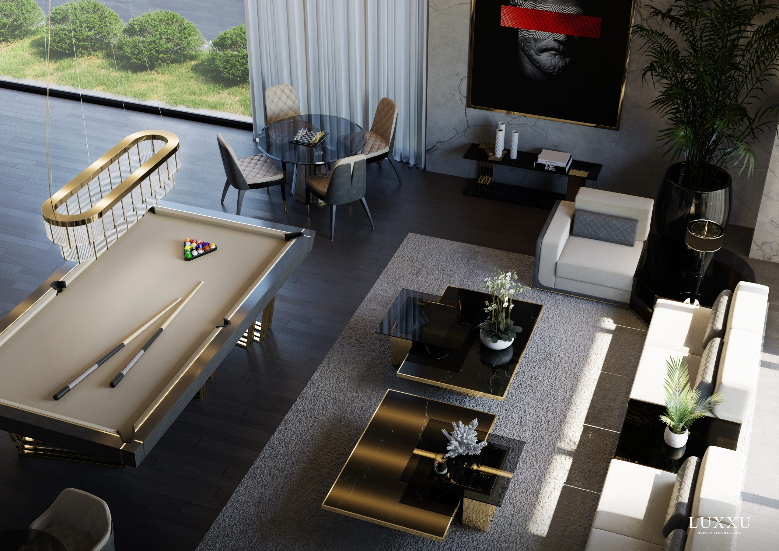 Marvel At This Exclusive Miami Property By Luxxu