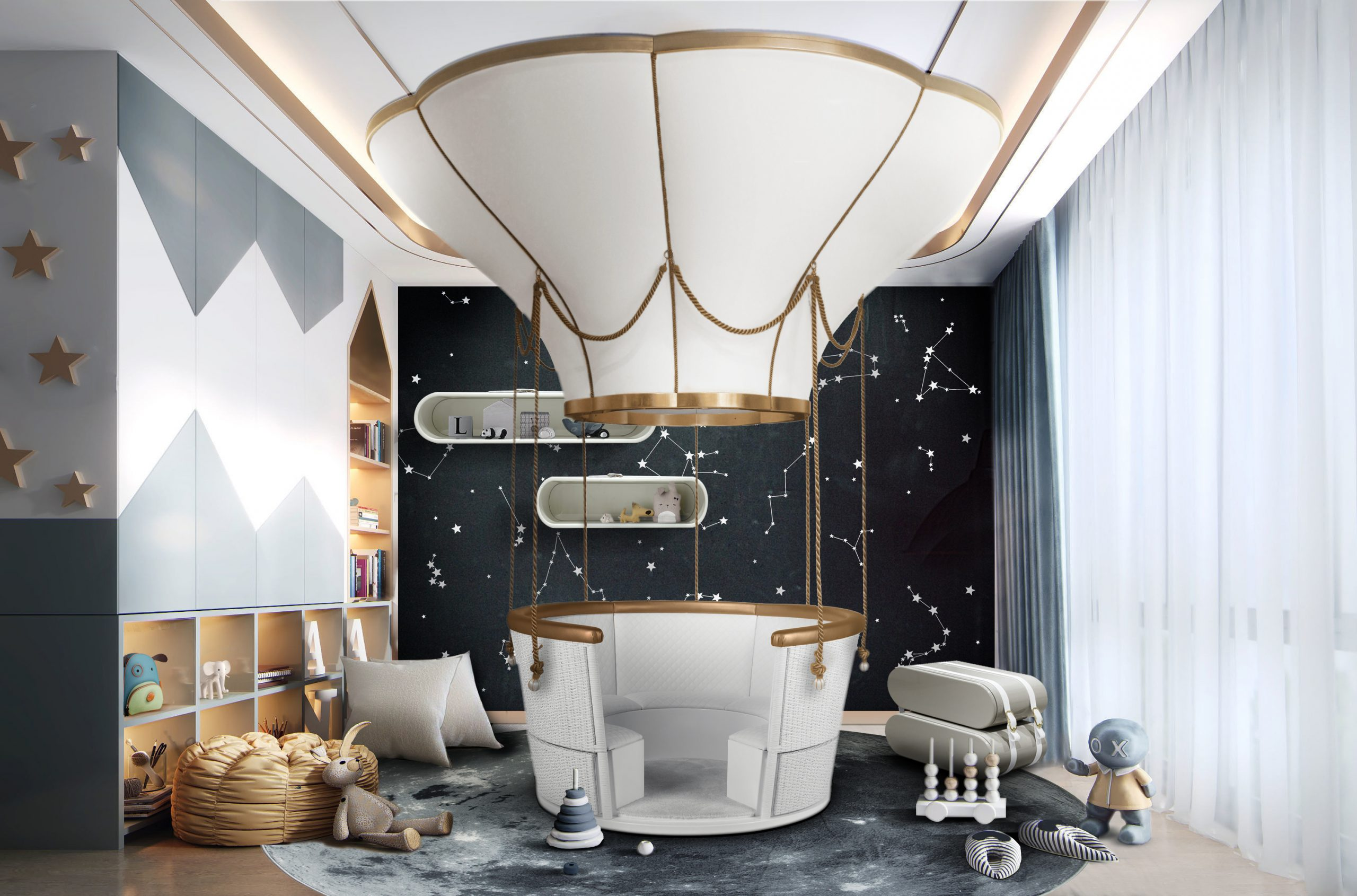 contemplate Contemplate These Exquisite Kid´s Bedroom Design Ideas Be Inspired By These Wonderful Ambiances For Your Kid  s Bedroom7