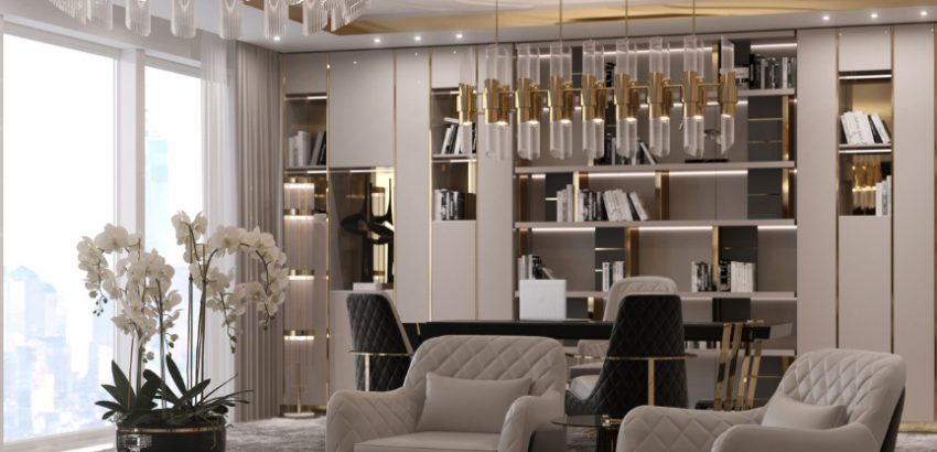 decorate your home office or reading corner with luxury Decorate Your Home Office Or Reading Corner With Luxury LX 9 1 850x410