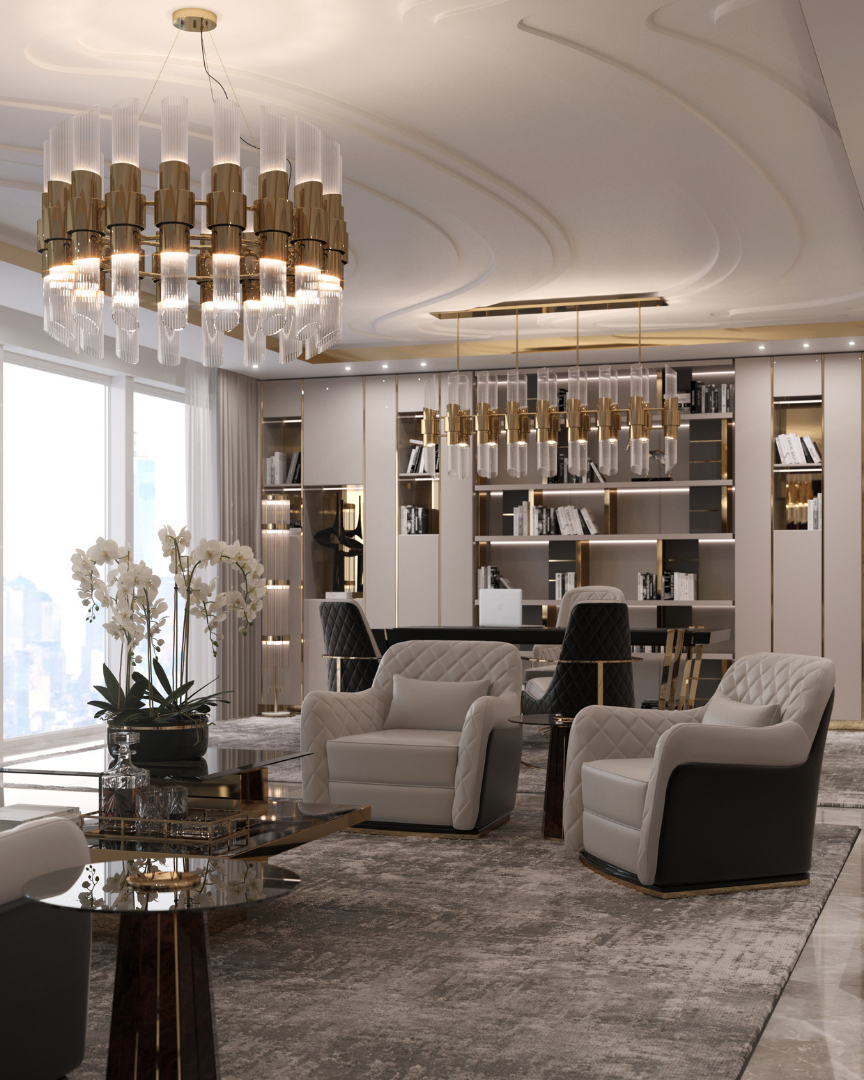Transform Your Workplace Decor With Luxury