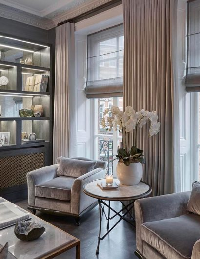 sophie paterson interiors Get To Know Sophie Paterson Interiors And Their Exquisite Projects Sophie Paterson Interiors Knightsbridge Apartment 1 410x532