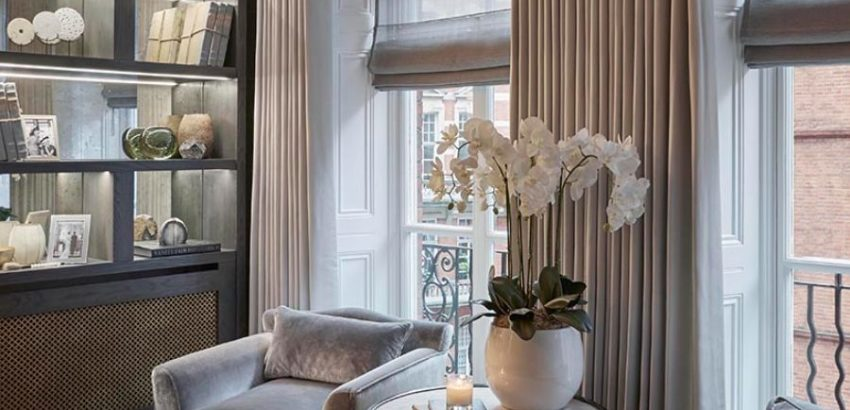 sophie paterson interiors Get To Know Sophie Paterson Interiors And Their Exquisite Projects Sophie Paterson Interiors Knightsbridge Apartment 1 850x410