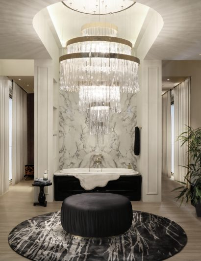 mesmerizing interiors Let Yourself Be Inspired By These Mesmerizing Interiors babel chandelier cover 01 410x532