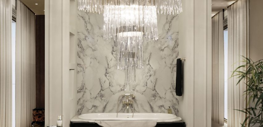 mesmerizing interiors Let Yourself Be Inspired By These Mesmerizing Interiors babel chandelier cover 01 850x410